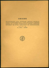 A Bibliography of Near and Middle Eastern Studies Published in the Soviet Union from 1937 to 1947, in Oriens. Journal of the International Society for Oriental Research. Vol. IV, Nr. 2, 1951