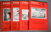 Essex Archaeology and History - the transactions of the Essex Archaeological Society - Vol 16 (3rd series) 1984-5,. Vol 17 (3rd Series) 1986, Vol 18 (3rd Series) 1987, Vol 19 ( 3rd Series ) 1988 [ 4 Volumes ]