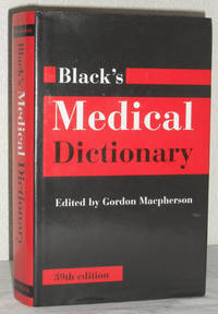 Black's Medical Dictionary - 39th Edition