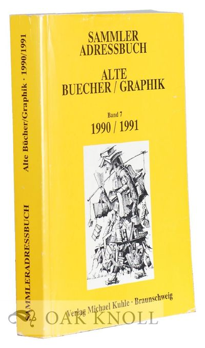 Braunschweig: Michael Kuhle, 1991. stiff paper wrappers. Booksellling. 8vo. stiff paper wrappers. vi...