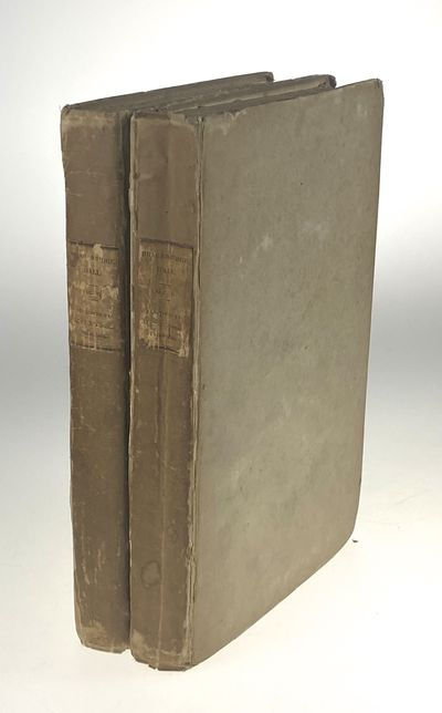 New York: C. S. Winkle, 1822. First edition. First edition. Two volumes. 8vo. (xi), 10-348, (2) pp.;...