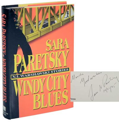 New York: Delacorte Press, 1995. First edition. Hardcover. First printing. A collection of V.I Warsh...