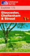 image of Gloucester, Cheltenham and Stroud (Explorer Maps)