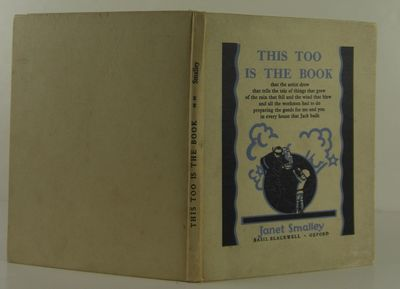 Oxford: Basil Blackwell, 1929. 1st Edition. Hardcover. Very Good/No Jacket. Very good in original cl...