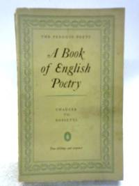 image of A Book of English Poetry