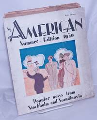 image of The Stockholm-American. Summer - Edition 1930. Popular news from Stockholm and Scandinavia