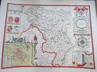 image of Map of Derbyshire (Darbieshire)