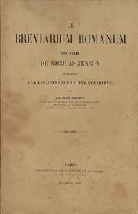 Le Breviarium Romanum sur vélin de Nicolas Jenson appartenant à la...
