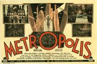 Metropolis Original US herald for the 1927 film