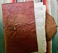 Manuscript Legal Document Consisting of a lawsuit brought in the case of two haciendas - San Nicolas Tolentino and San Cayetano - and the Mill of Belen in the towns of San Andres  and Tepeaca.