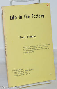 image of Life in the factory