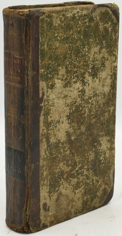 New York: Methodist Printing Office, 1825. Half Leather. Good binding. Volume III only of The Youth'...