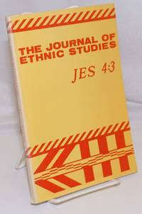 image of The Journal of ethnic studies; volume 4, number 3, Fall 1976