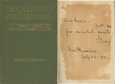 San Francisco: A. M. Robertson, 1916, 1916. First edition. BAL 18767; Mattila A12. Spine dull; cloth...