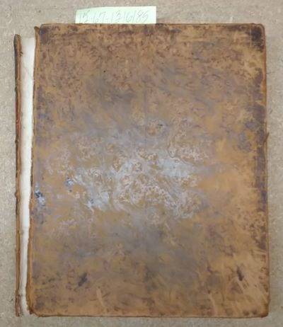 Philadelphia: John Grigg, 1830. Third Edition. Hardcover. Large Octavo; pp 127; Fair condition hardc...