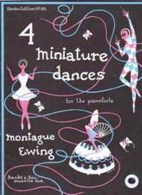 Four Miniature Dances by Ewing Montague - from Music by the Score and Biblio.co.uk