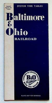 Baltimore & Ohio Railroad System Time Tables