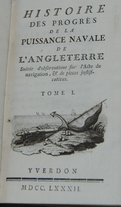 Yverdon, 1783. First Edition. 12mo, 2ff, iv, xi, 371; 2ff, 362, with three tables, one folding. Boun...