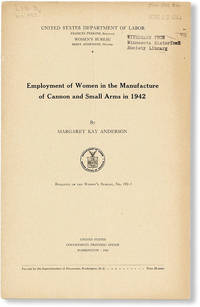 image of Employment of Women in the Manufacture of Cannon and Small Arms in 1942