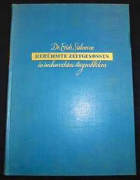 [Photobook] Berühmte Zeitgenossen in unbewachten Augenblicken [Celebrated Contemporaries in Unguarded Moments] by  Erich (1886-1944) SALOMON - First Edition - 1931 - from Fine Editions Ltd (SKU: BB1978)