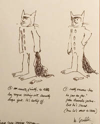 [Where The Wild Things Are] a series of seven character sketches of the protagonist Max (dressed in his wolf suit) intending to show the animators how the figure should move throughout the animated film.