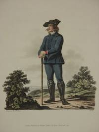 The Costume of the Hereditary States of The House of Austria: Original 1817 Bertrand De Moleville Hand Coloured Engraving - Plate 43: A Peasant of the Lowlands of Moravia [Czech Republic]