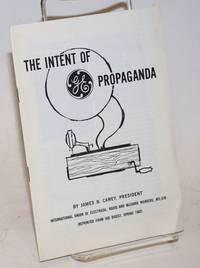 image of The intent of GE propaganda