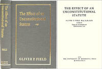 The Effect of an Unconstitutional Statute. ISBN 158477181X