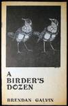 View Image 2 of 3 for A Birder's Dozen (with) a Typed Postcard Signed from the Author & Related Ephemera Inventory #25554