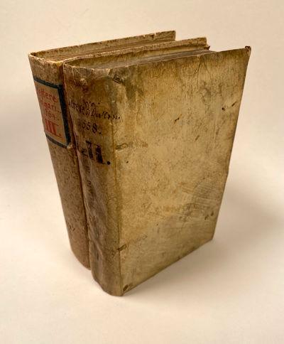 Venice: Domenico Giglio; Paolo and Aldo Manutius, 1564. Good. Ad 1: 8vo. Part 1: , 2-138, = 142 ff. ...