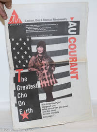 image of Au Courant: Lesbian, Gay & Bisexual Newsweekly; vol. 12, #50, October 24, 1994: the Greatest Cho on Earth