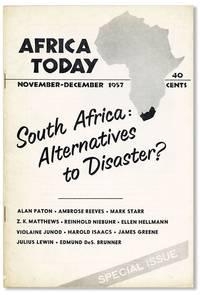Africa Today, Vol. IV, no. 6, November-December, 1957