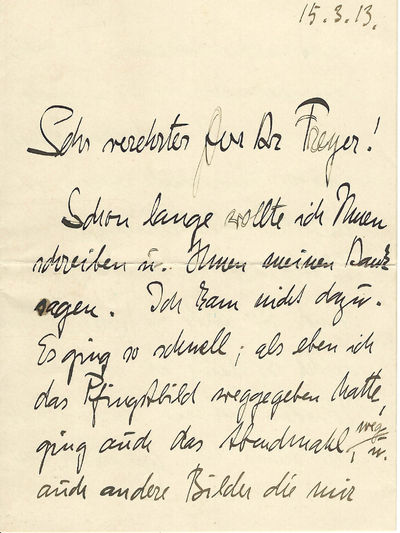 Early & Important Autograph Letter by...