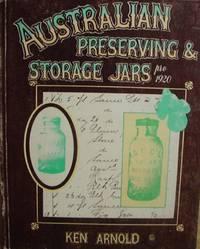 Australian Preserving & Storage Jars Pre 1920