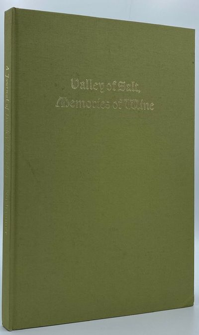 Berkeley: The Friends of the Bancroft Library, 1967. 67pp. Quarto Green cloth with the title gilt st...