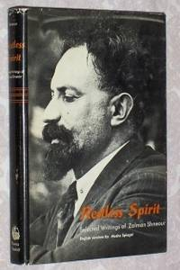 Restless Spirit: Selected Writings of Zalman Shneour