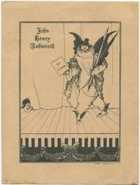 image of Bookplate of John Henry Ashworth