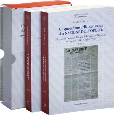 : Edizioni Polistampa, . New Edition. Two volumes; octavo (24cm.); publisher's white pictorial card ...