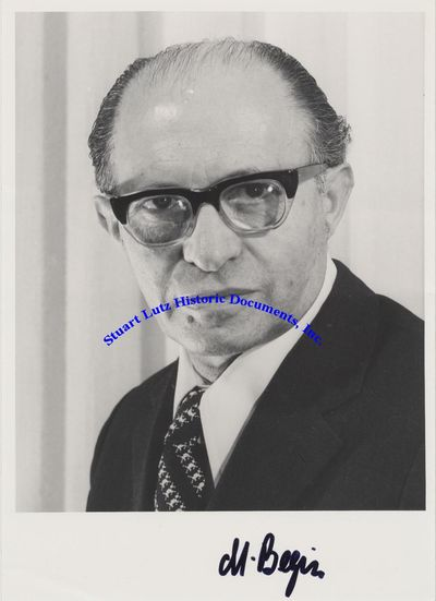 MENACHEM BEGIN (1913-1992). Begin was the Prime Minister of Israel who won the Nobel Peace Prize for...