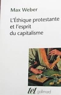 image of L'éthique protestante et l'esprit du capitalisme suivi d'autres essais