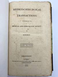 image of Medico-Chirurgical Transactions, Volume 4