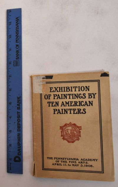 Philadelphia: Pennsylvania Academy of Fine Arts, 1908. Softbound. G-, cover loose at spine but intac...