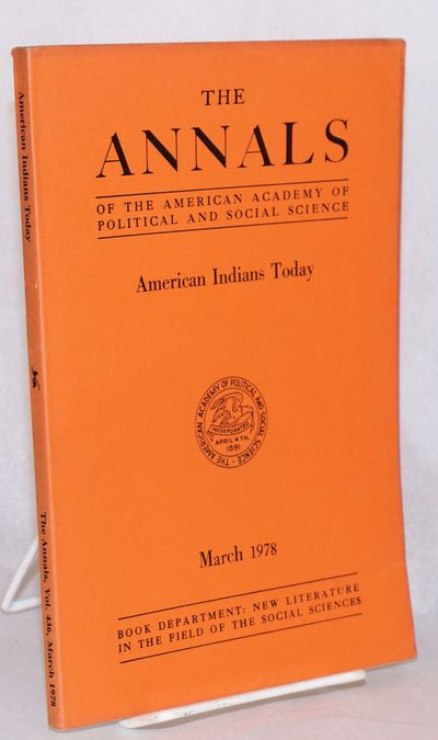 Philadelphia: the journal, 1978. vi, 212p., plain printed orange journal wraps; mildest fading and e...