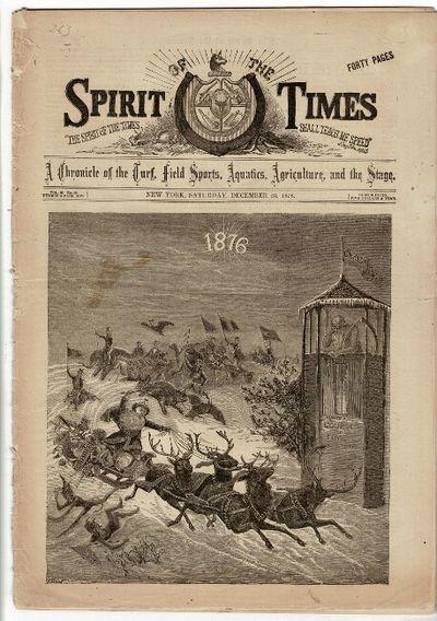 New York: Saturday, December 23, 1876. 16