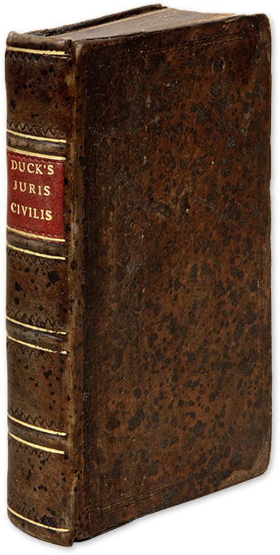 1679. London, 1679.. London, 1679. Study of the Civil Law Notable for Its Criticism of the Crown Duc...