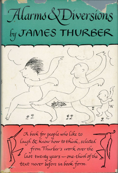 New York: Harper & Brothers Publishers, 1957. Octavo, pp. 367, drawings by Thurber, cloth-backed boa...