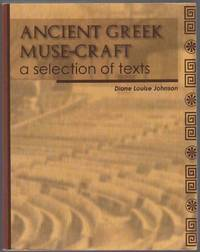 image of ANCIENT GREEK MUSE-CRAFT A SELECTION OF TEXTS