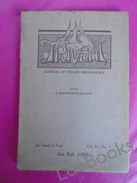 TRIVENI Journal of Indian Renaissance (With Which is Incorporated 'The New Era') Vol. IV, No. 1 Jan, Feb. 1931