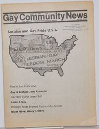 image of GCN: Gay Community News; the weekly for lesbians and gay males; vol. 9, #2, July 25, 1981; Lesbian_Gay Pride USA