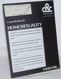 image of Christianity and Crisis: vol. 33, #9 & 10, May 30 & June 13, 1977: A special issue on Homosexuality